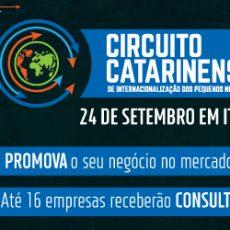 Circuito de Internacionalização em Itajaí – 24/09